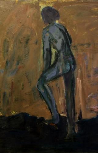 Süleyman Erdal - Tuval üzerine yağlıboya, 100x140 cm, 2015