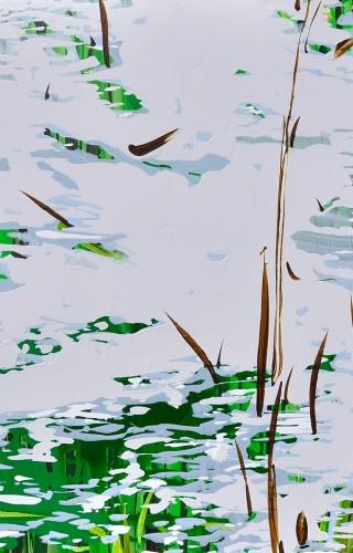 Su Dizisinden, Tuval Üzerine Akrilik, 130x150 cm, 2013