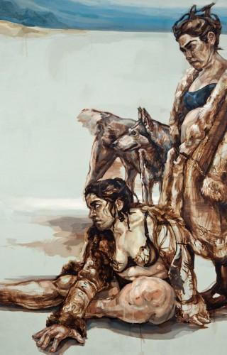 İstencin Kara Kurdu, 175x200 cm, 2010