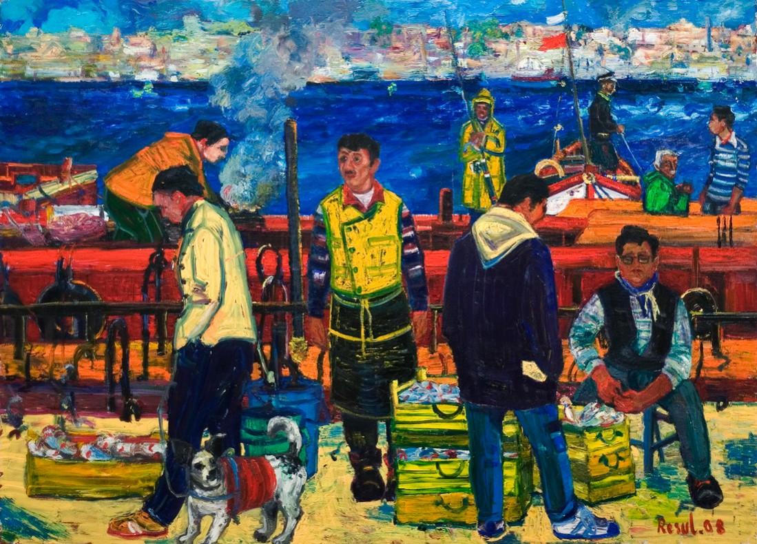 Balıkçılar, Haliç