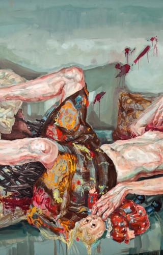 Medea'nın Ölümü, 150x200 cm, 2009