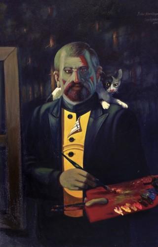 Şeker Ahmet Sezai Paşa I  113,5x75 cm