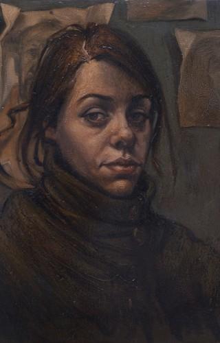 Kader Genç - Şeyma'nın Portresi, T.Ü.Y.B. 55x65 cm, 2014