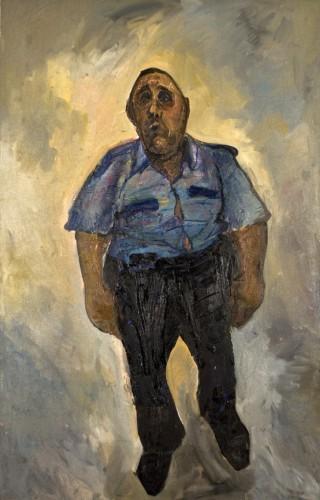 Gayri_Resm_Kuzguncuk_Polisi, TUYB, 190x120cm, 2010