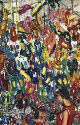 Beşiktaş Pazarı, 200x235 cm, 2009