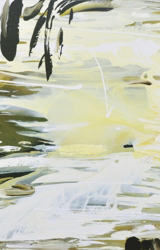 Su Dizisinden, Tuval Üzerine Akrilik, 130x150 cm, 2012