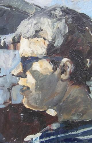 Cengiz Uğur - Kesmeler 50x65 cm, 2000
