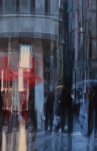 Mustafa Albayrak - Mis Sokak'tan İstiklal, TUYB, 100x185 cm