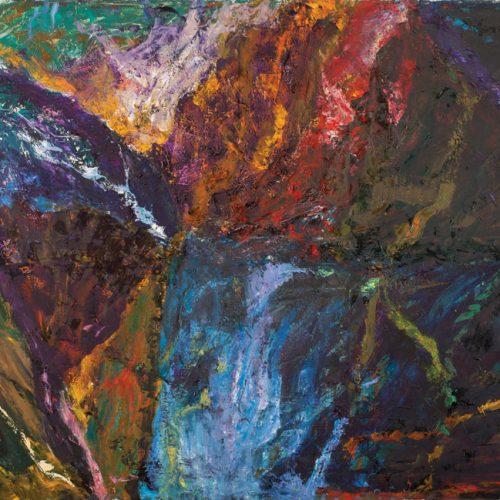 Ahmet Merey, The Avalanche - TUYB 130x180cm 2008