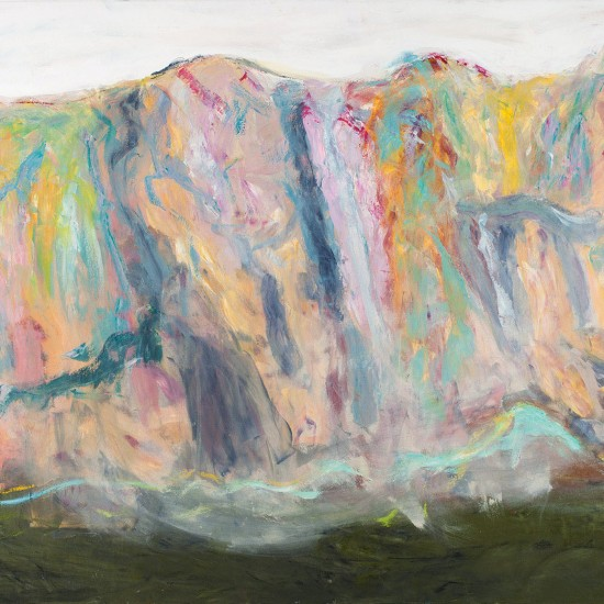 Ahmet Merey, Mountains - 130x180 cm TUYB