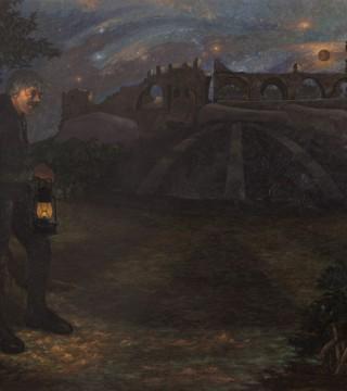 Hüsnü Koldaş - Bir Karanlık ki Eyvah / Karanlık Enerji, TUYB, 165x200 cm