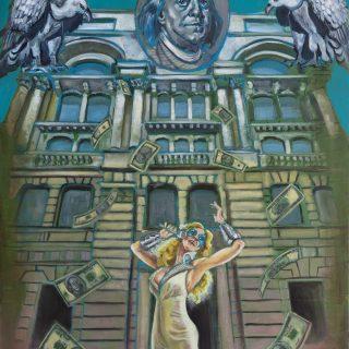 Hakan Kalay - Galata, Bankalar Caddesi - TUYB, 130x100 cm, 2016