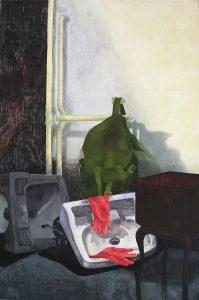Cengiz Uğur - Lavabo, TUYB, 166x100 cm, 1997