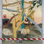 Joel Menemşe - Yaşam Alanı, TUYB, 160x320 cm, 2017