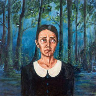 Songül Canerik - Beklenen Haber, T.U.Y.B., 150x170 cm, 2016