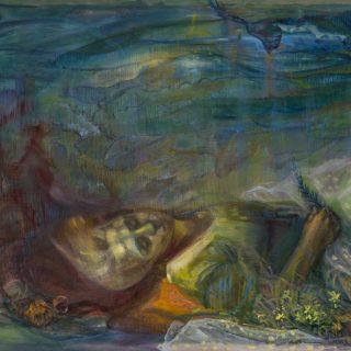 Sevinç Çiftçi - Dip Tuval üzerine yağlı boya 100x140 cm