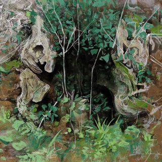 Tuğçe Diri - İsimsiz, 2016, 110x130cm, tuval üzeri akrilik,karışık teknik