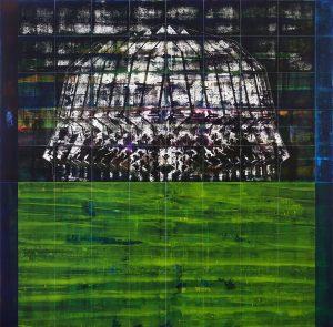 Semih Zeki 180x180cm Tuval üzerine akrilik 2017