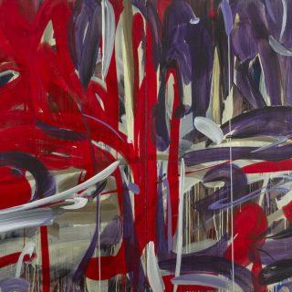 Yıldız Doyran - İsimsiz, TUA, Diptik 170x280 cm, 2001